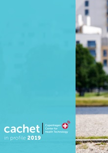 Front page of cachet in profile 2019