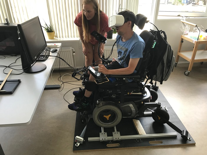 Testing of wheelchair interface